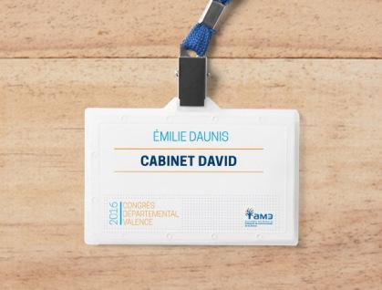 Badges congrès AMD 2017