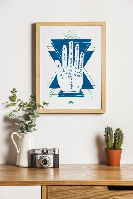 Chiromancie poster