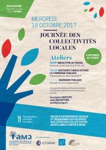 Flyer Journée des collectivités locales