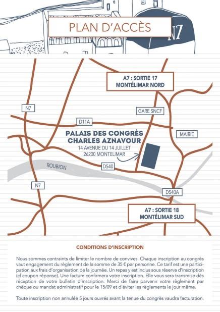 Plan congrès AMD 2015