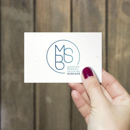 Carte de visite MBS avocate