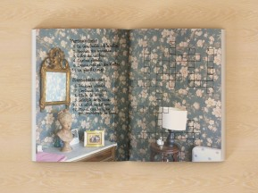 La chambre fleurie