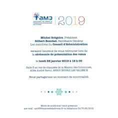 INVITATION VOEUX AMD 2019